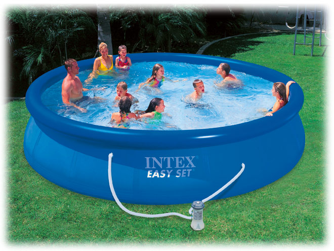 Piscina gonfiabile intex for Piscina gonfiabile